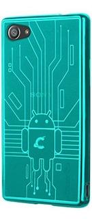 Cruzerlite - Carcasa Para La Sony Xperia Z5 Compacta Verde A