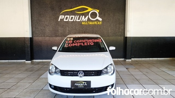 Polo Sedan Comfortline 1.6 8v (flex)