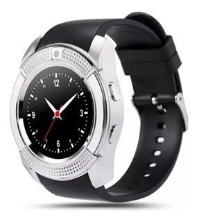 Relógio Bluetoot Smartwatch Ios Android Redondo Touch Screen