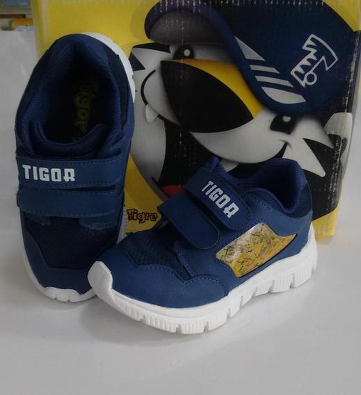 Tênis Casual Tigor T. Tigre Menino Azul