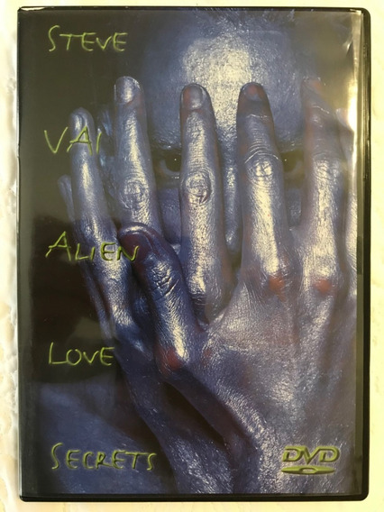 Steve Vai Alien Love Secrets Dvd Perfeito Estado Frete 8,50