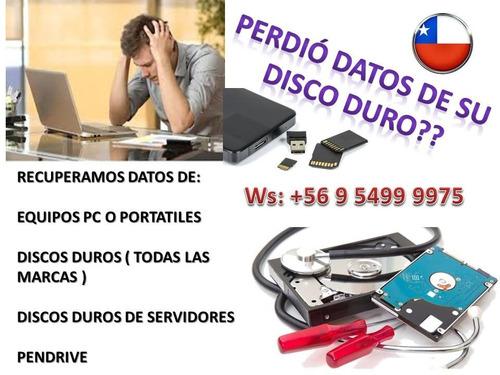 Recuperacion Datos Disco Duro Servicio Tecnico