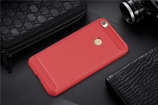 Capa Xiaomi Redmi 4x Tela 5.0 Vermelha