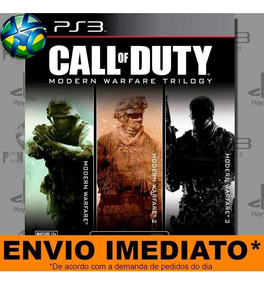 Jogo Call Of Duty Modern Warfare 1 2 3 Ps3 Play 3 Psn Rápido