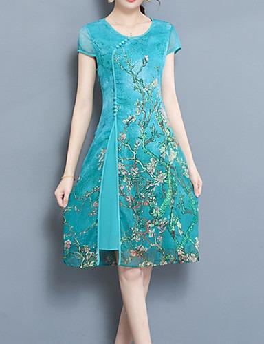 Vestido Oriental Tejido Elegante