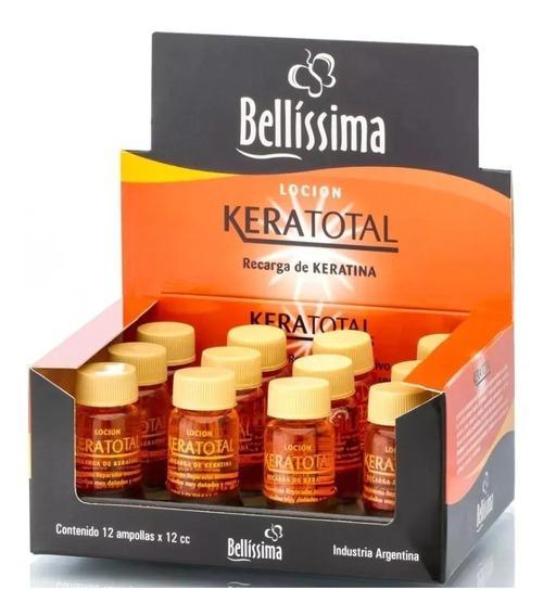 Ampollas Capilares Bellissima Keratotal Brillo Diamante X 12