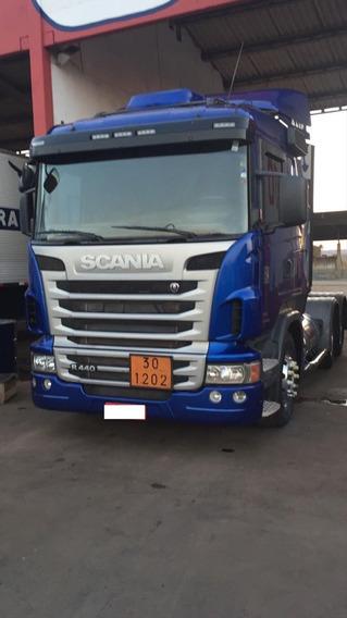Scania R440 2012/13 6x4 Unico Dono