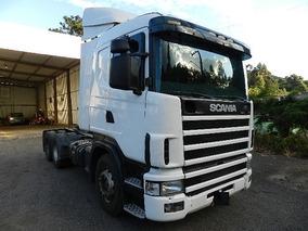 Scania 124 420 6x2 2006 Com Motor Feito Recente