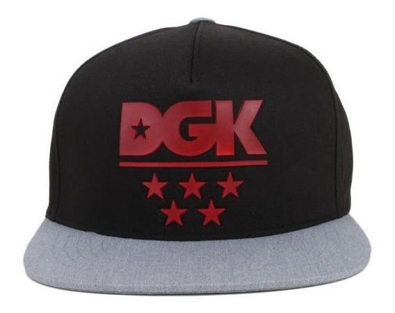 Bone Dgk Squad Snapback Black