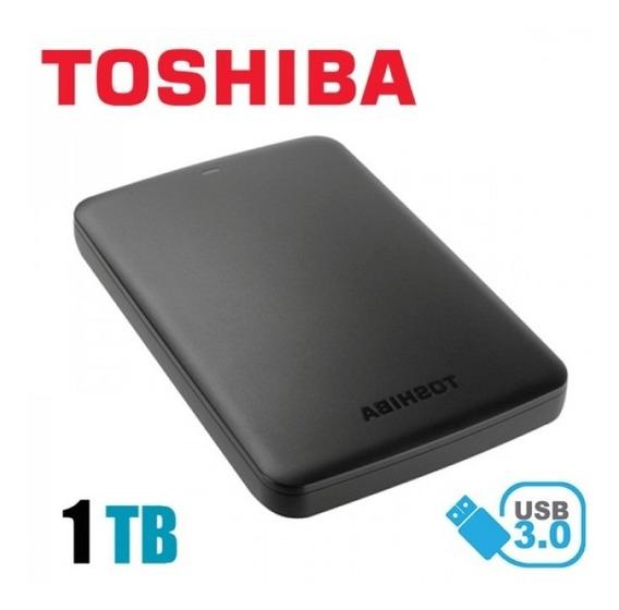 Disco Duro Externo 1tb Toshiba, Usb 3.0, 2.5