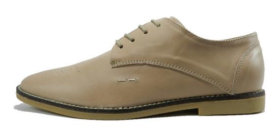 Zapato Vestir Morris Cuero Azul 4222 Negro 4230 Ostra 4220