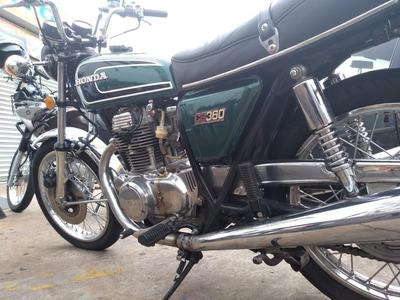 Moto Cb 360 1974