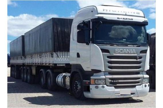 Scania R440 6x4 High/stre E5 No Bitrem 9 Eixos Ano 2018