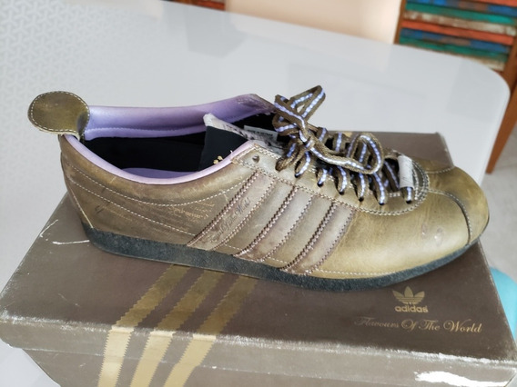 adidas Gazelle Flavours Of The World Lavender Couro Tam 41