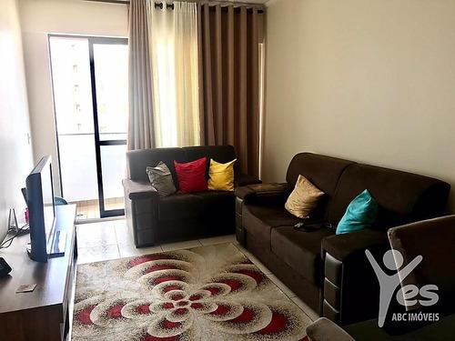 Imagem 1 de 15 de Ref.: 3008 - Apartamento Com Condomínio, 3 Quartos Sendo 1 Suíte E 1 Vaga De Garagem, Parque Das Nações, Santo André, São Paulo - 3008