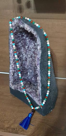 Japamala De Pedra Natural - Personalizado Com Até 7 Tipos
