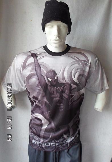 Playera Gym Spiderman 2 Talla L!!!