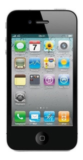 iPhone 4s 8 GB Preto 512 MB RAM
