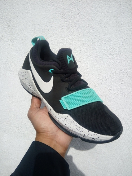 Nike Pg 1 Black Light Aqua Originales # 25 Mex