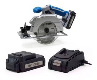 Kit Hyundai Sierra Circular + Bateria 2,0ah + Cargador - Sti