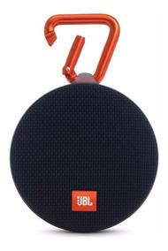 Caixa De Som Bluetooth Jbl Clip 2 Preta Original Nfe