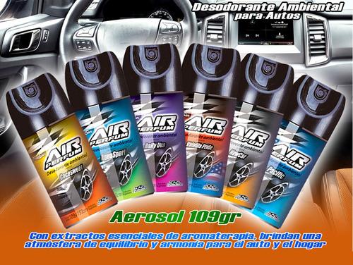 Perfumador Auto Spray 109gr Varias Fragancias