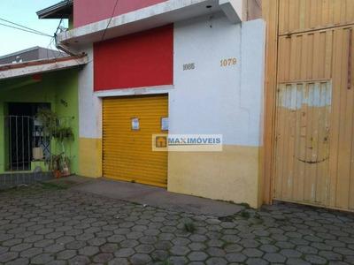 Salão Para Alugar, 30 M² Por R$ 1.400/mês - Nova Gardênia - Atibaia/sp - Sl0022