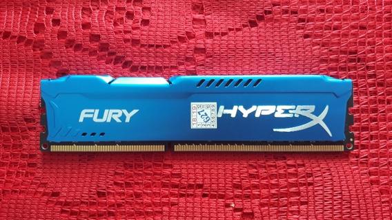 Memória Ram 8 Gb 1600mhz Ddr3 Hyperx Fury