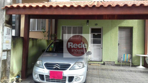 Casa À Venda, 75 M² Por R$ 180.000,00 - Jardim Maria Amélia - Jacareí/sp - Ca4592