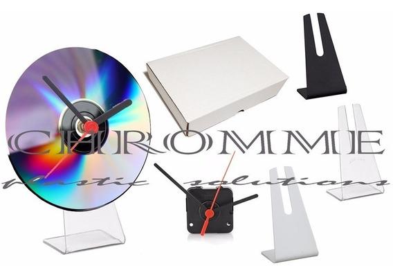 Kit Com 20 Unidades De Relógio Modelo Cd Com Embalagem