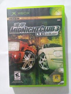 Midnight Club 3 Dub Edition Xbox Clasico Original Trqs