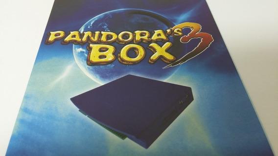 Multijogo Pandora Box 3 520 Jogos Fliperama Vga Jamma Crt