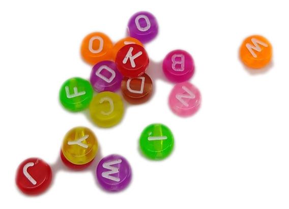 Letras Para Hacer Pulseras De Colores Surtidos Bolsita