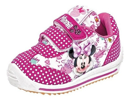 Tenis Sneaker Panam Niña Minnie Mouse Dtt 95585