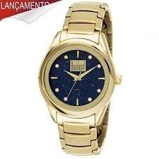 Relógio Dumont Feminino Ref: Du2035lna/4p Frete Gratis
