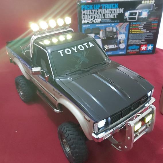 Tamiya Toyota Hilux High-lift 1/10 Rc Con Mfc2