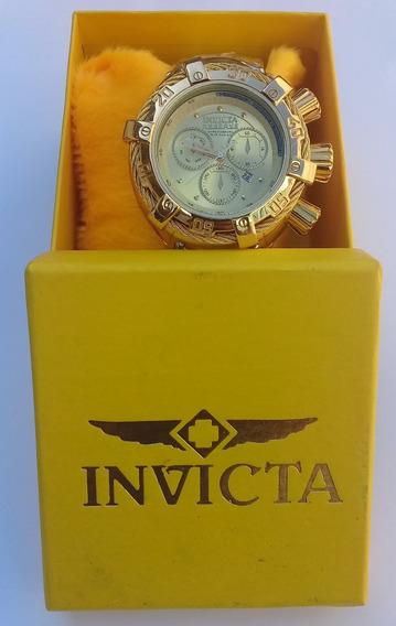 Relógio Reserve Com Caixa Luxo Elegante