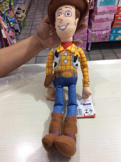 Toy Story Boneco De Pelúcia Woody. 39 Cm Marca Long Jump