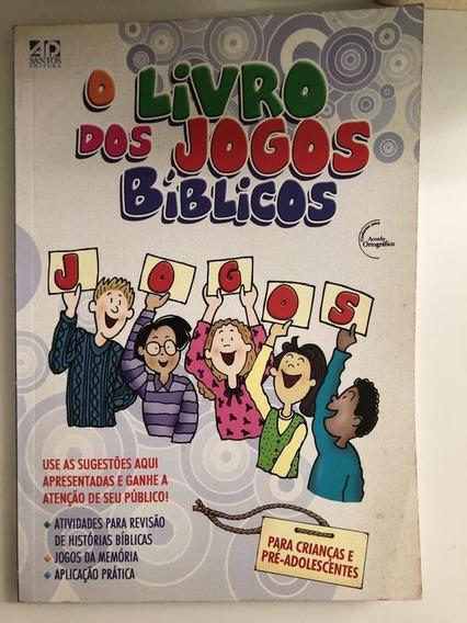 O Livro Dos Jogos Bíblicos. Para Criancas E Pré-adolescentes
