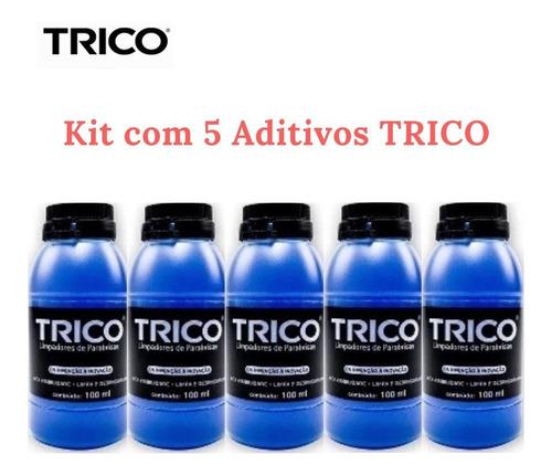 Imagem 1 de 4 de Limpa Vidro E Para-brisa Trico Kit Com 5 Unidades
