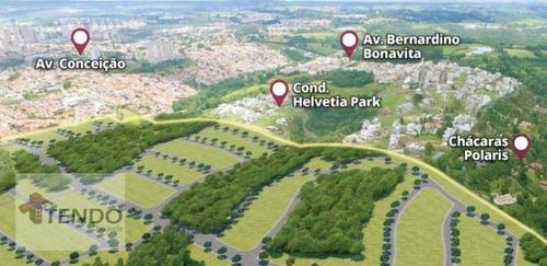 Imagem 1 de 30 de Terreno À Venda, 250 M² Por R$ 262.500,00 - Vila Residencial Green Park - Indaiatuba/sp - Te0079