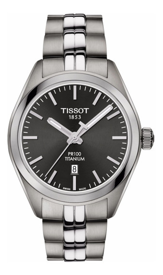 Reloj Tissot Pr100 Titanium T1012104406100 Ghiberti