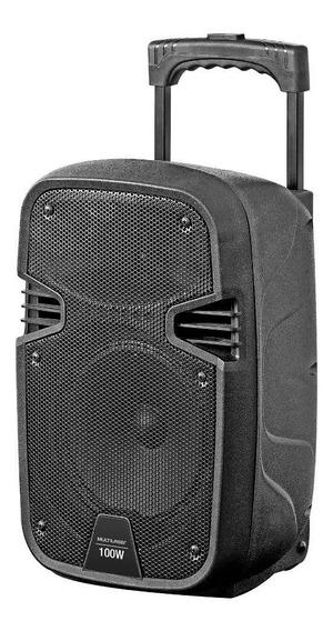 Caixa De Som Amplificadora Multilaser Ativa 100w Rms Sp241