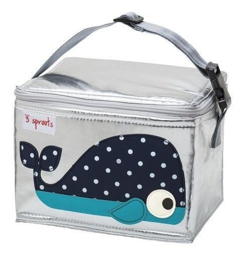 Lunch Bag 3 Sprouts Ballena Azul