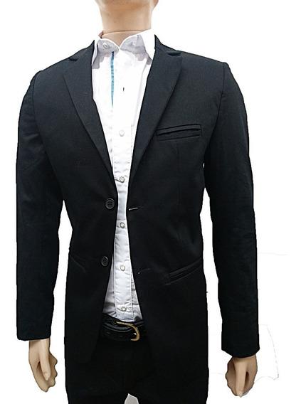 Saco Gabardina Hombre Blazer Entallado Slim Vs Colores,local