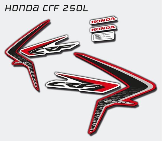Crf 250l Honda Set Calcos Símil Orig.