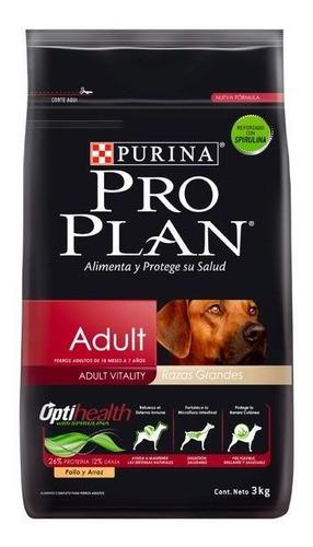 Proplan Adulto Dog Raza Grande 3 Kg