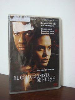Dvd Orig El Coleccionista De Huesos - Washington - Sellada!
