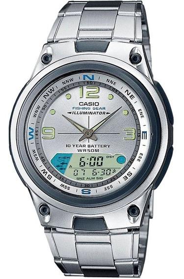 Relógio Casio Fishing Gear Masculino Aw-82d-7avdf