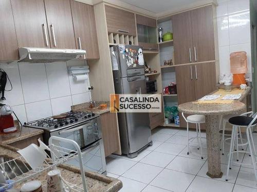 Imagem 1 de 11 de Sobrado Com 3 Dormitórios À Venda, 650 Metros Da Av. Líder, 96 M² Por R$ 415.000 - Cidade Líder - São Paulo/sp - So1183